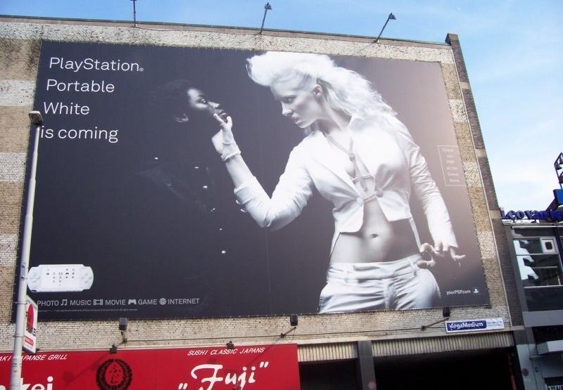 Sony playstation ad