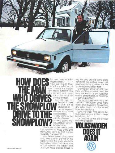 Snowplow VW