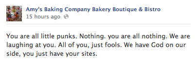 Amy's Baking Company