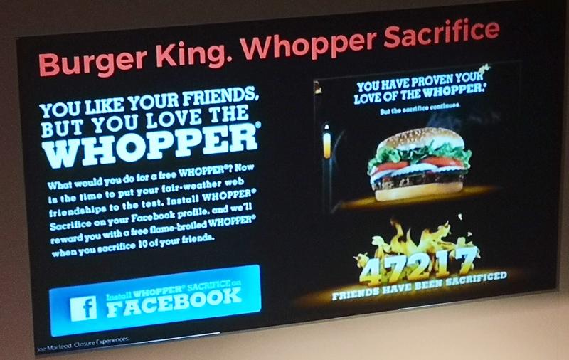Joe Macleod Burger King