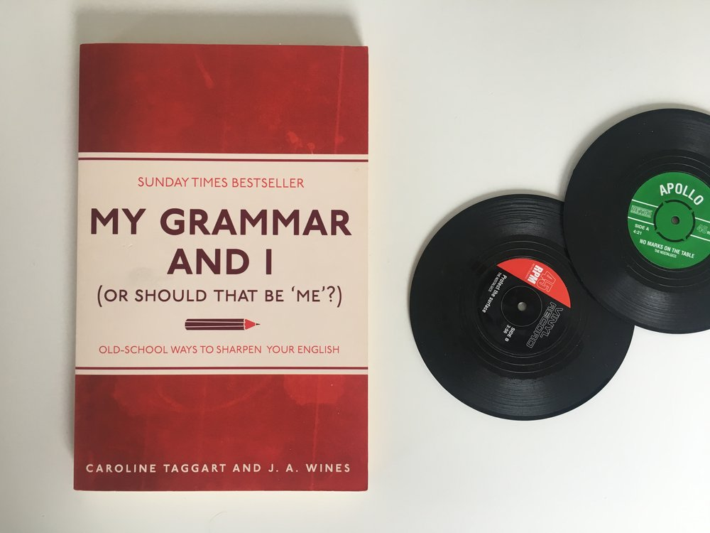 My grammar and I (or should that be me?)