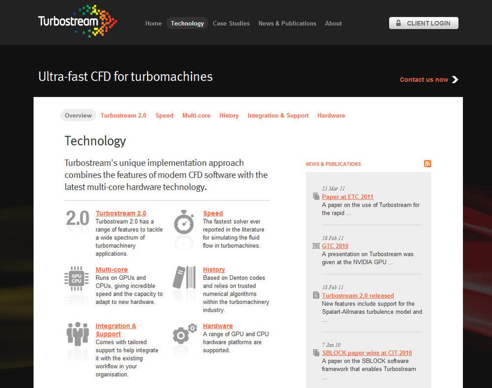 Copywriting for Turbostream