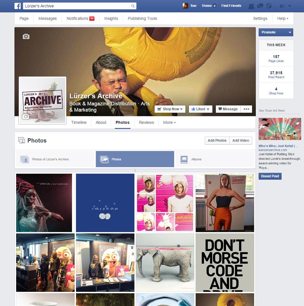Lürzer's Archive Facebook