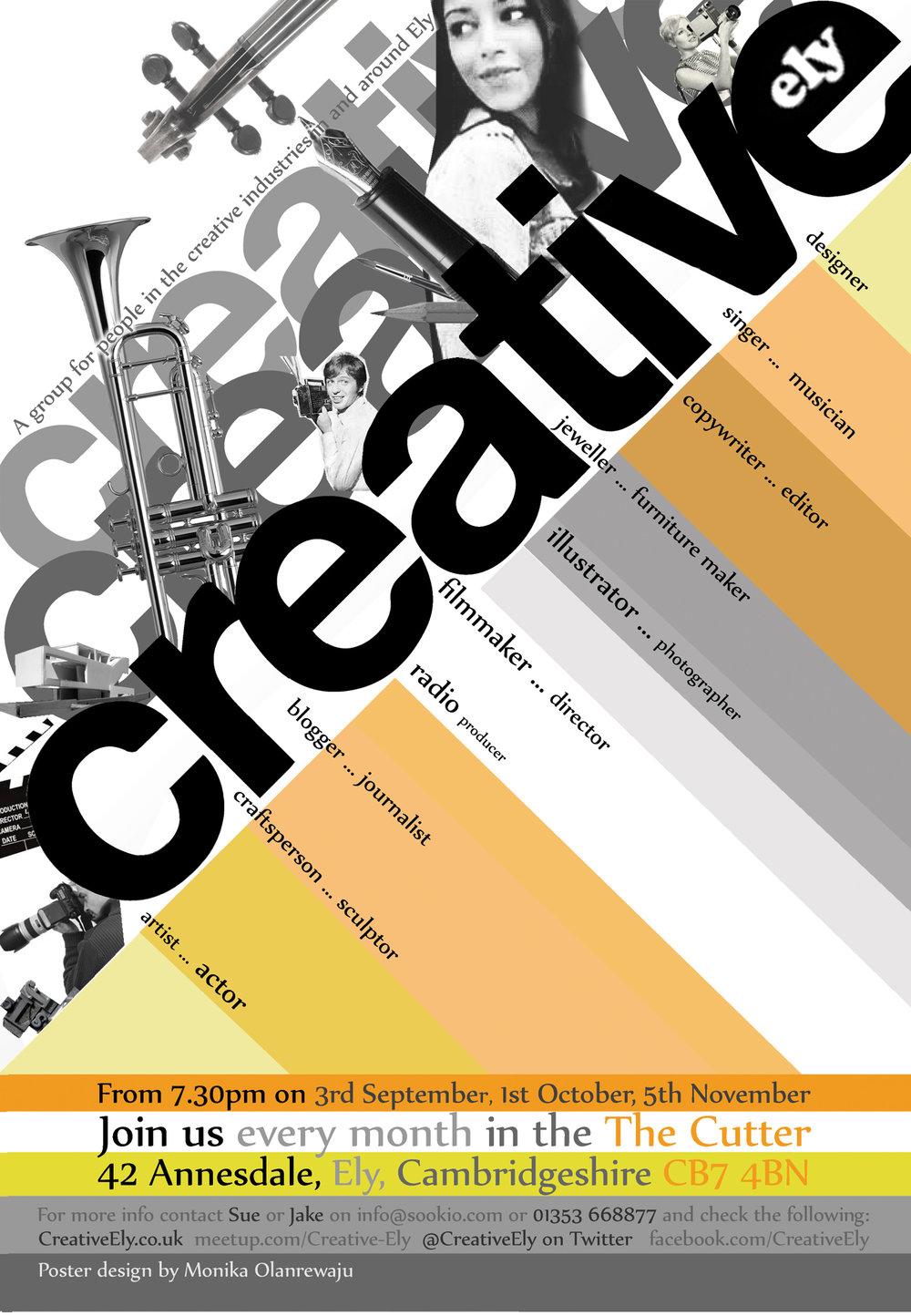 Poster design by Monika Olanrewaju