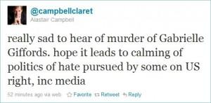 Campbell Giffords tweet