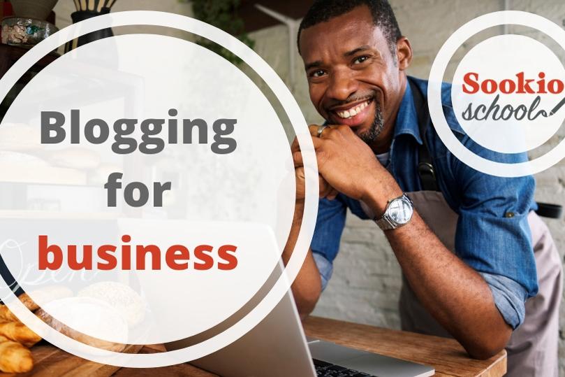 Sookio School Blogging for business course