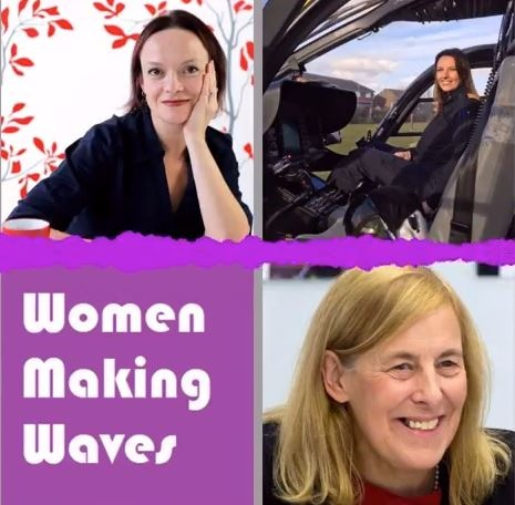 Women making waves