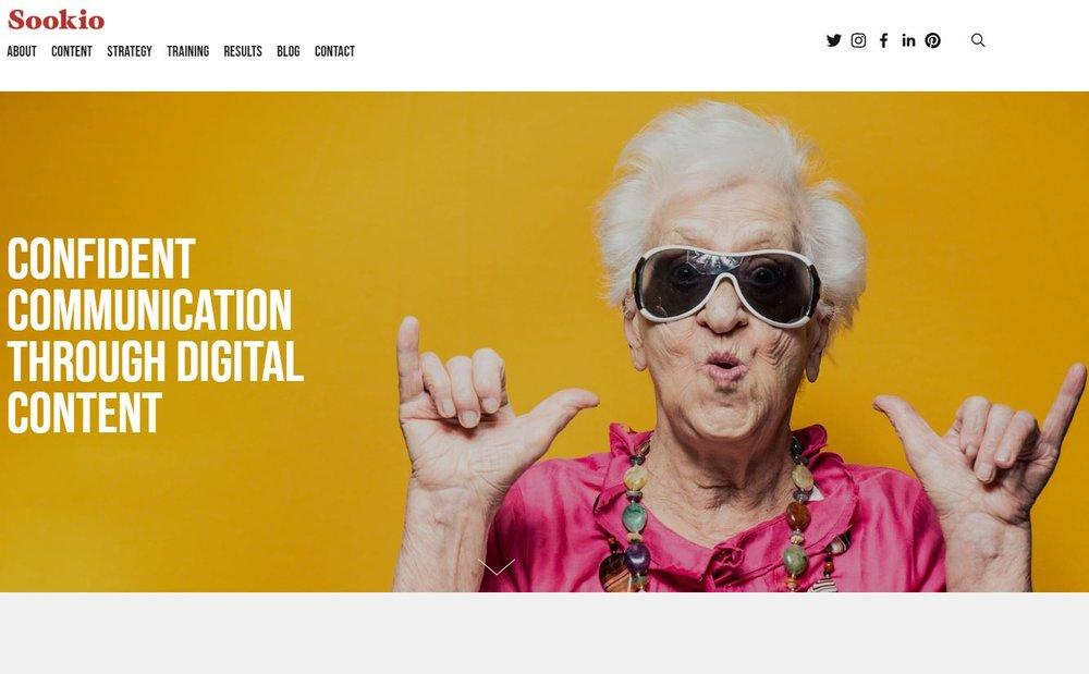 Sookio website