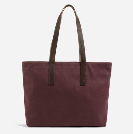 Everlane's tote bag in Fig.