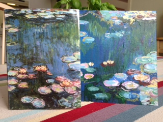 Copying the master, Monet.