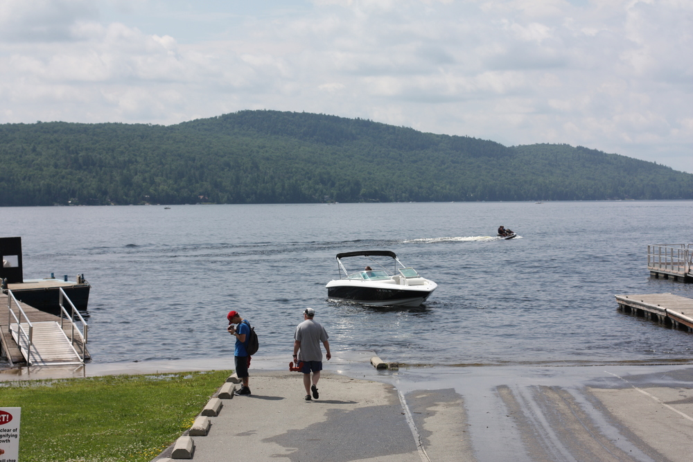 Schroon Lake, July 4th. Get your boat in!