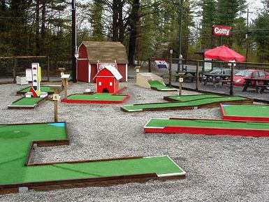 Our favorite local mini golf course at the Mt. Severance Store