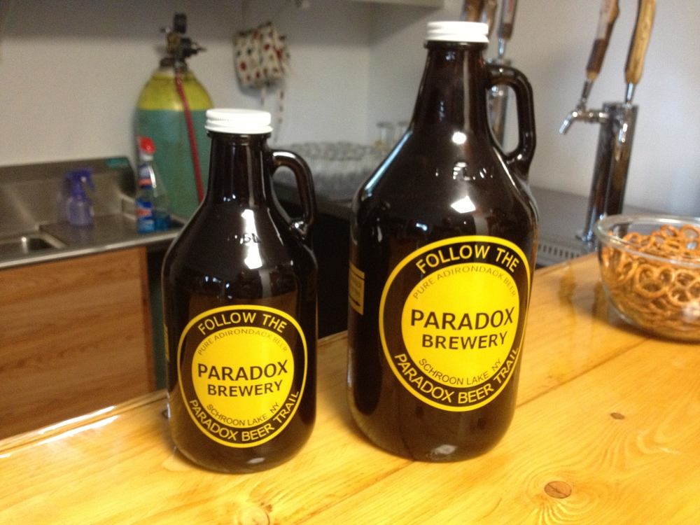 The tall and the short of it: only at Paradox Brewery -- find out more in our Food and Drink section.