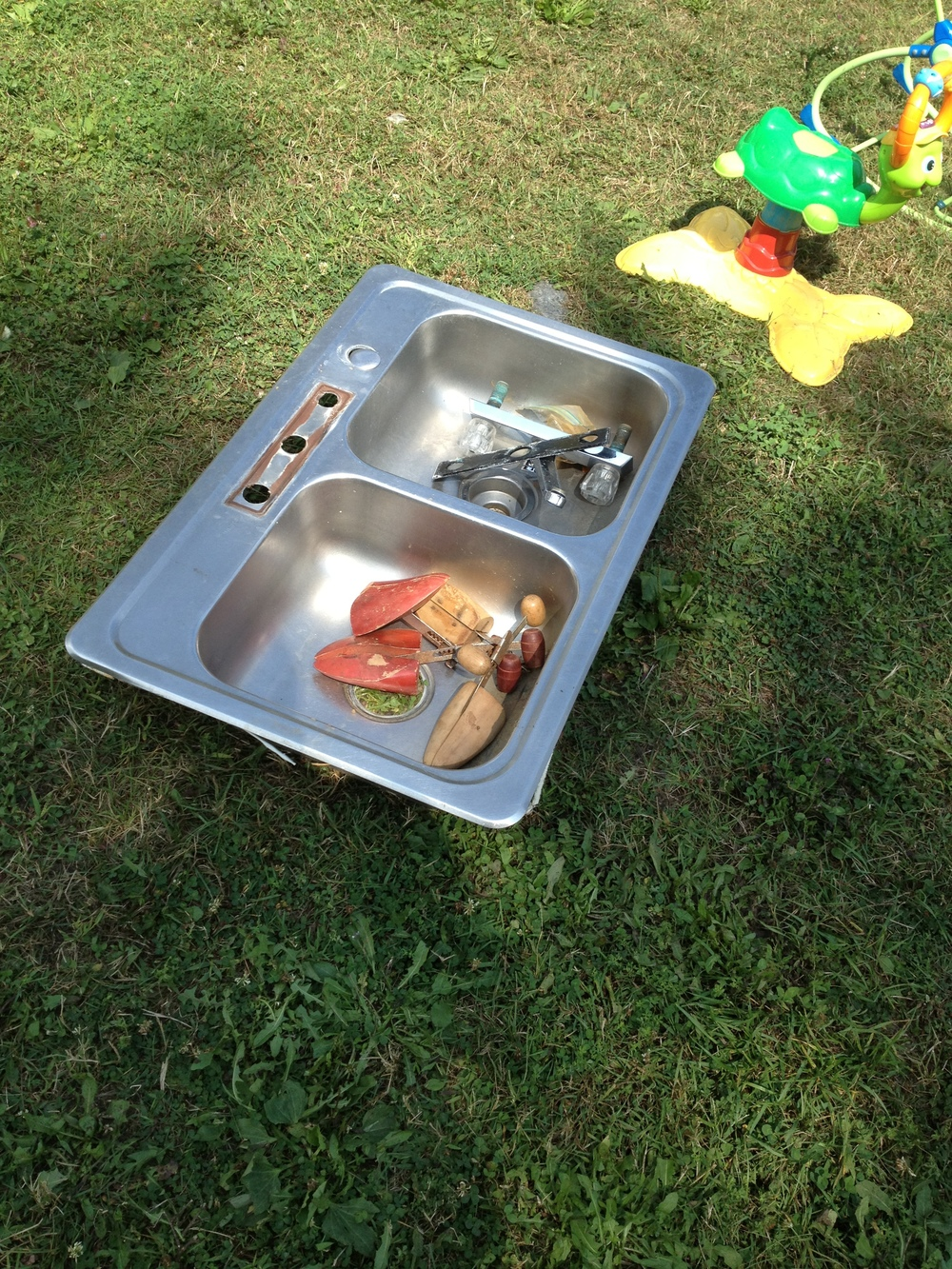 Yes -- there is everything and the kitchen sink at this sale!!!