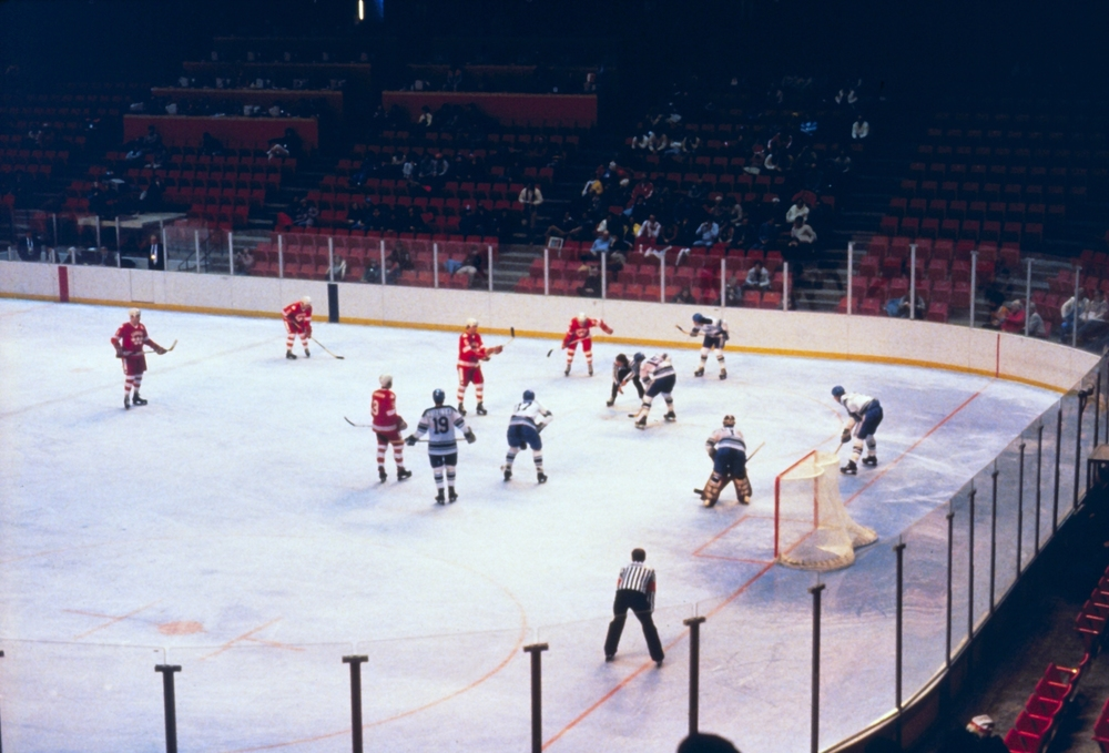 The Miracle On Ice game, where the US beat the Soviets