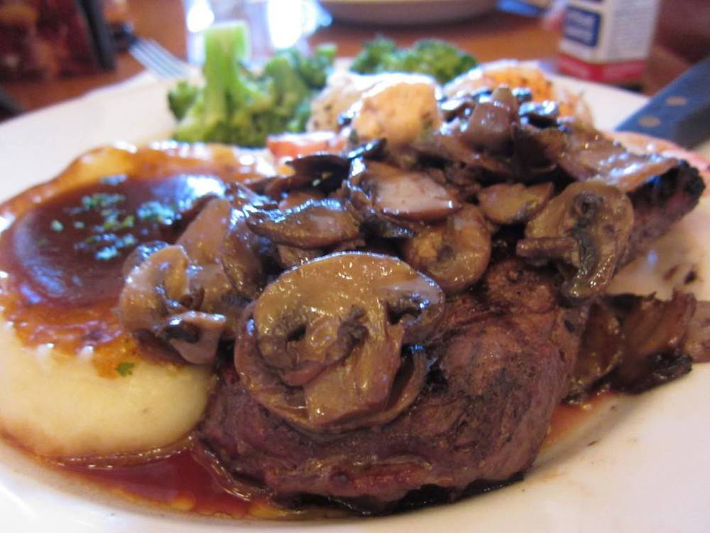 Steak from Witherbee's Carriage House