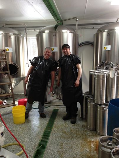 Paul and Vaughn Clark. Courtesy Paradox Brewery