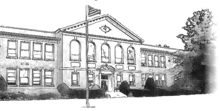 Sketch courtesy Schroon Lake Central School