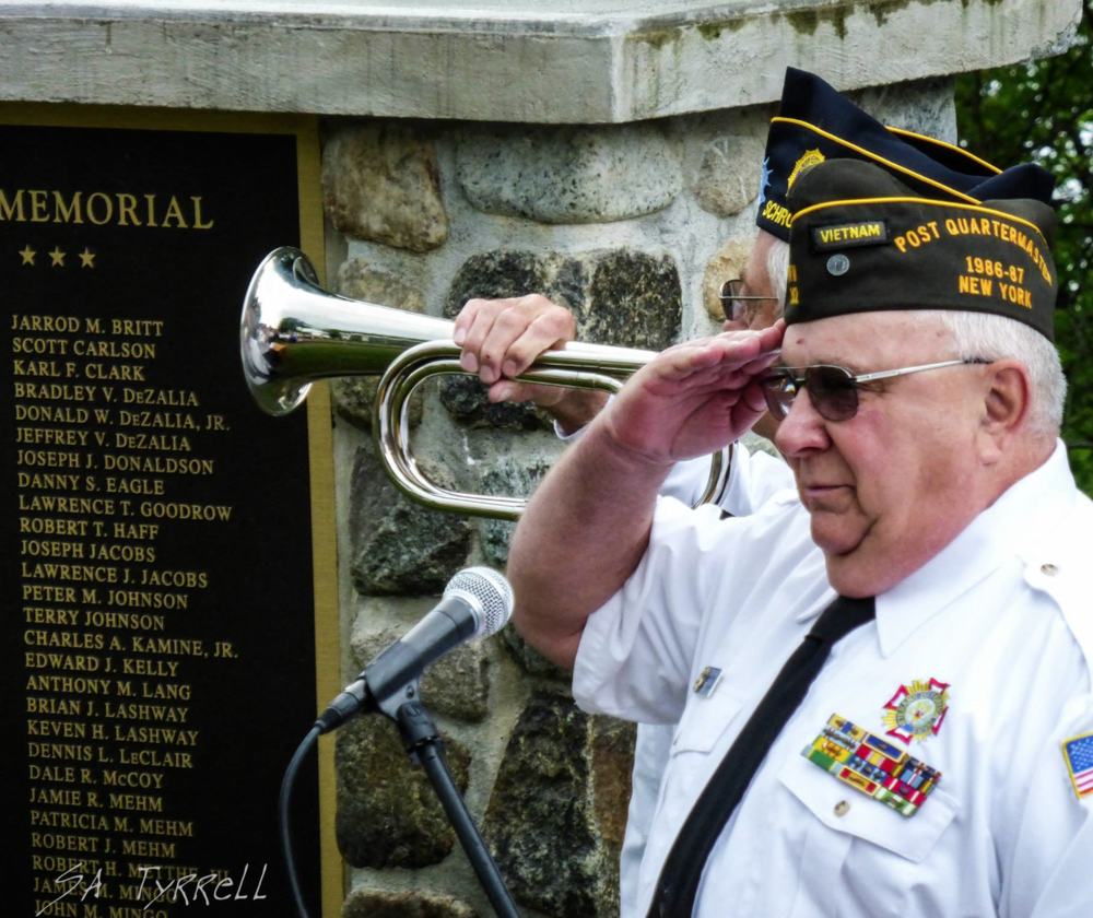 Photo Copyright: Sharron Tyrrell 2014. All rights reserved. Picture shows Vietnam Veteran Donald Sage