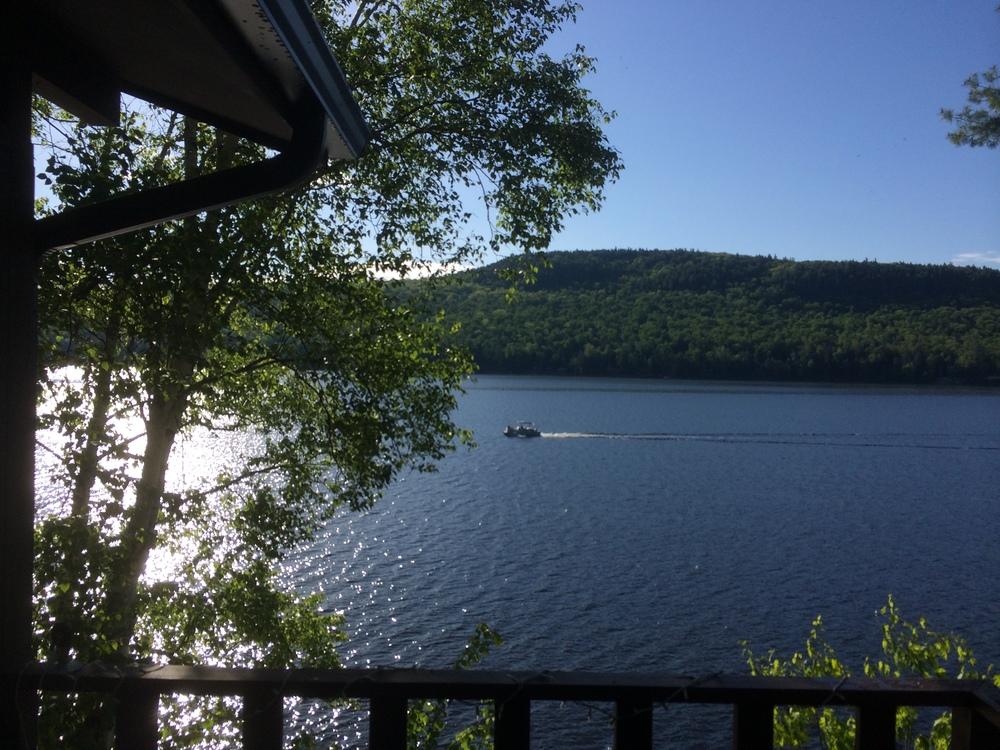 Schroon Lake , Saturday Morning, May 31, 2014