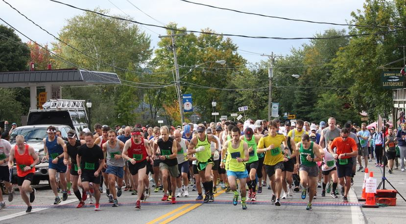 The start of the 2013 ADK Marathon