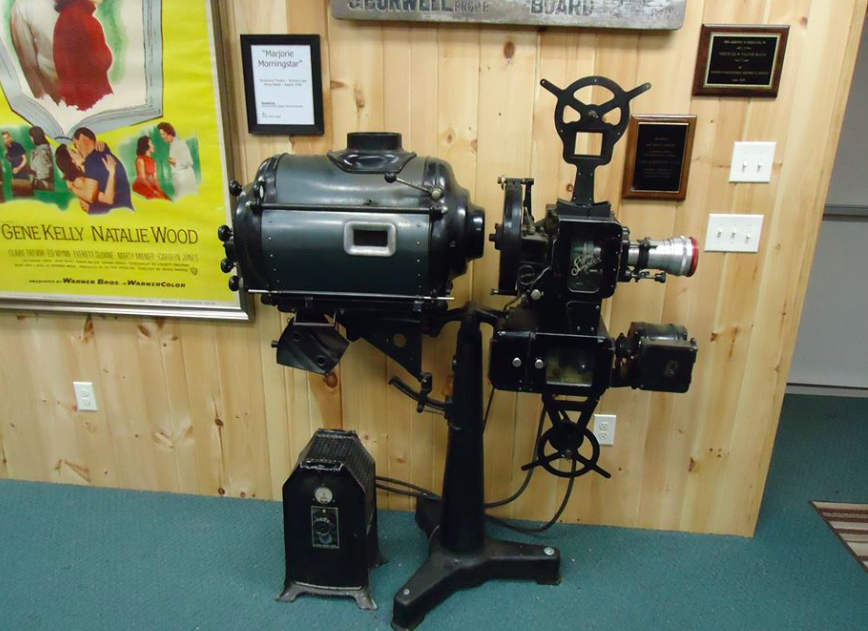 The original Strand Projector  circa 1937.