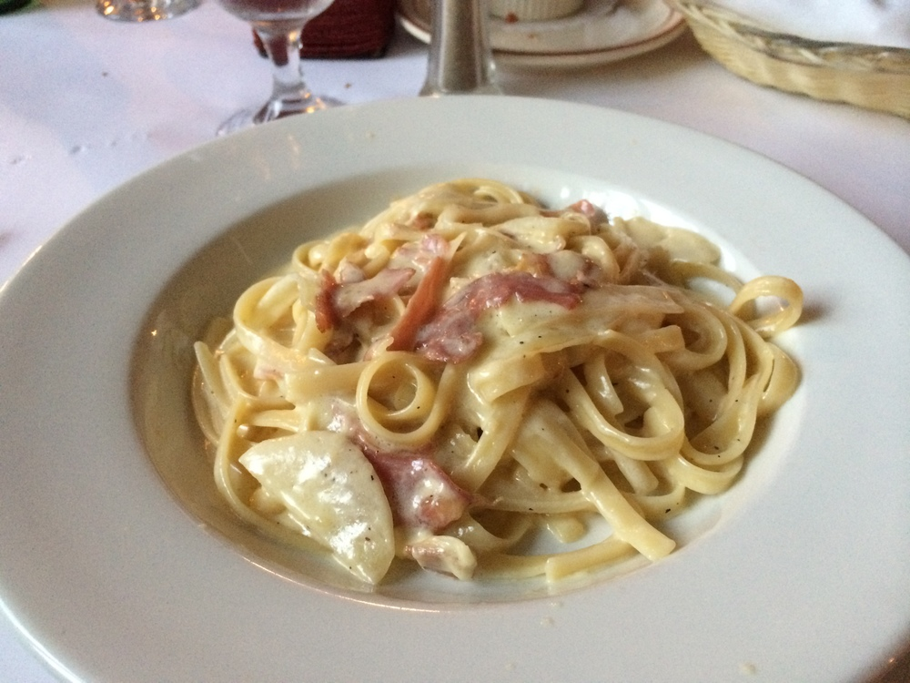 Drake's Monday Night Pasta Special: Any Pasta $11.95 with a side salad and bread.COPYRIGHT SCHROON LAKER COLLECTION