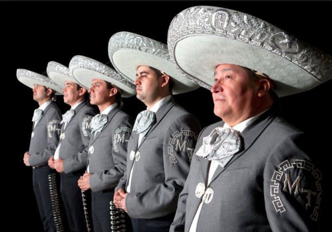 New This Year: The Five Piece Mariachi Band Tapatio De Alvaro Paulino. Photo Courtesy of the artists.