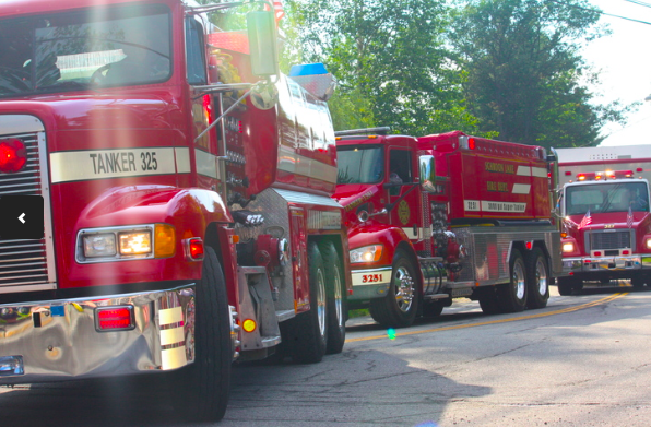 Like Fire Trucks? There will be plenty in the 2014 Schroon July 4th Parade/. Schroon Laker Collection: All Rights Reserved