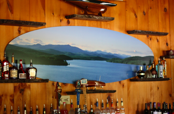 The Bar at  Sticks and Stones. Schroon Laker Collection: All Rights Reserved.
