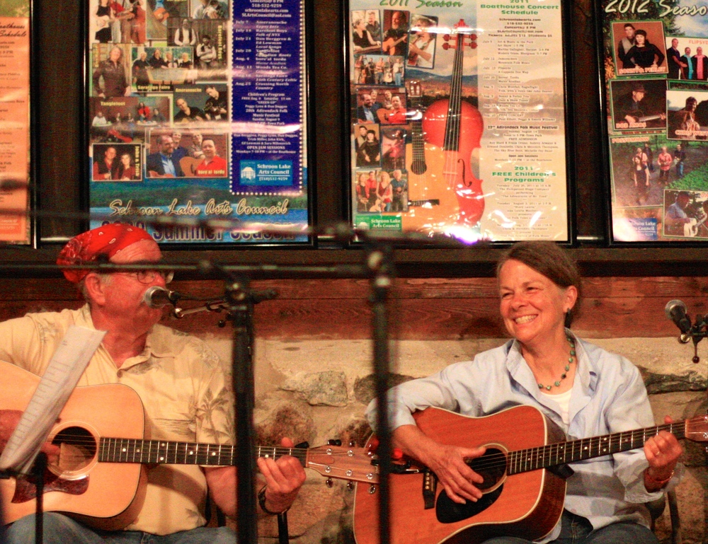 Patti And Dave jammin' at the Monday Night Boathouse