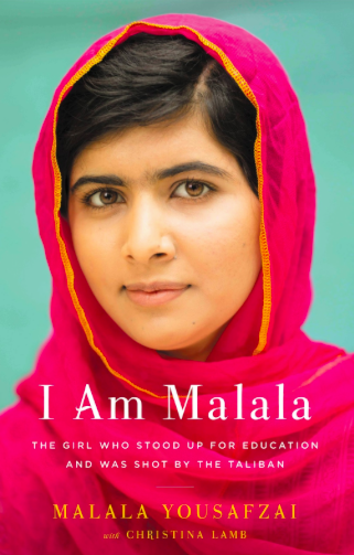 Malala Yousafzai: At sixteen, she has become a global symbol of peaceful protest and the youngest nominee ever for the Nobel Peace Prize.
