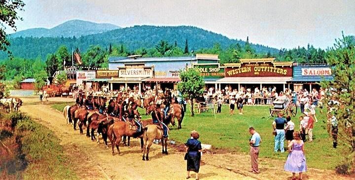 Frontier Town postcard, circa the 1960s