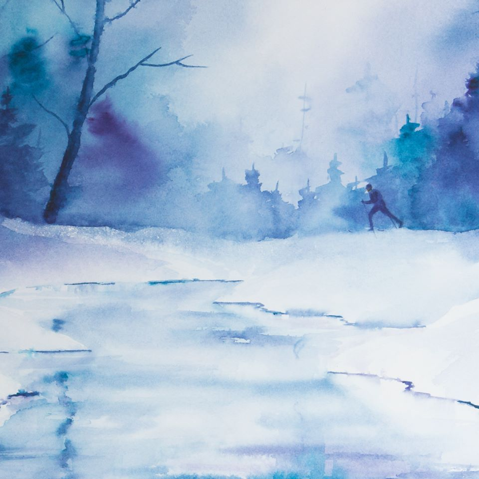 Water color Courtesy of Giant Mountain Studio. Copyright of the artist 2014. All rights reserved.