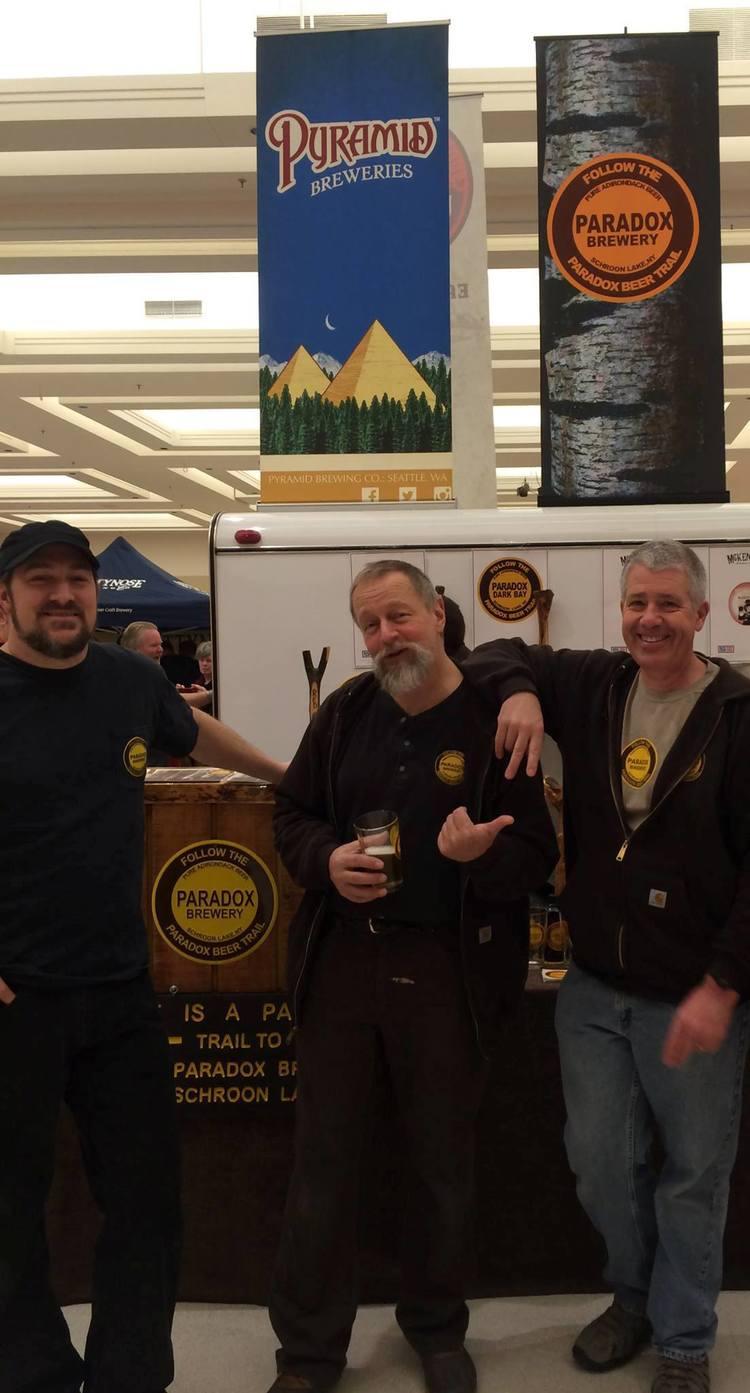 The Paradox Beer Guys: Vaughn, David and Paul  .   Photo courtesy Paradox Brewery.
