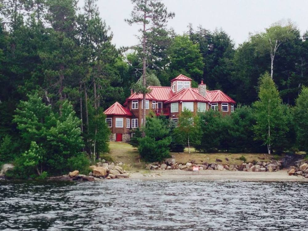 Photo Credit:   Kylen Kline .  This mansion -- on Schroon Lake's east shore -- was sold at the Essex County Tax Auction earler this year.
