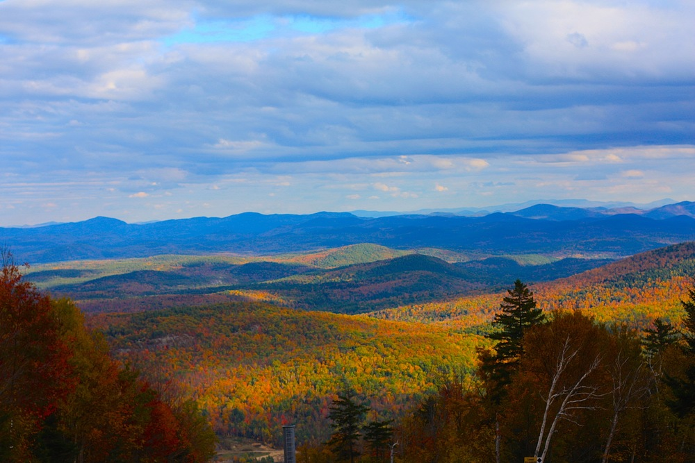 View from Gore Mountain Ski Resort. Schroon Laker Collection. Copyright2014