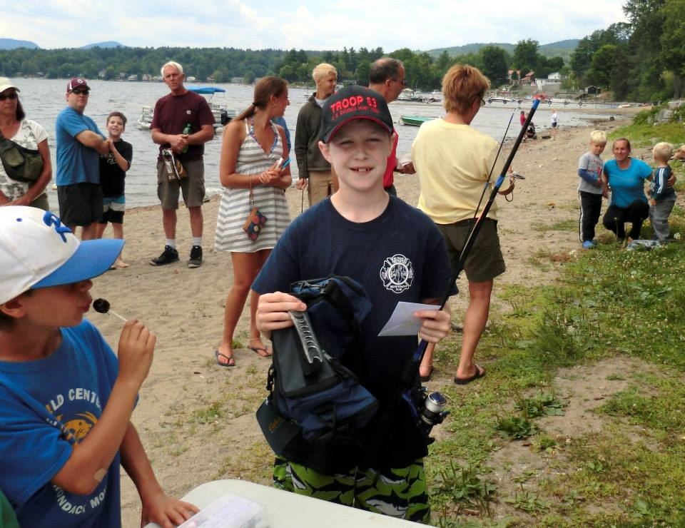 schroon's waterfront  -- home to the annual kids fishing derby -- will get big dollars for improvements.