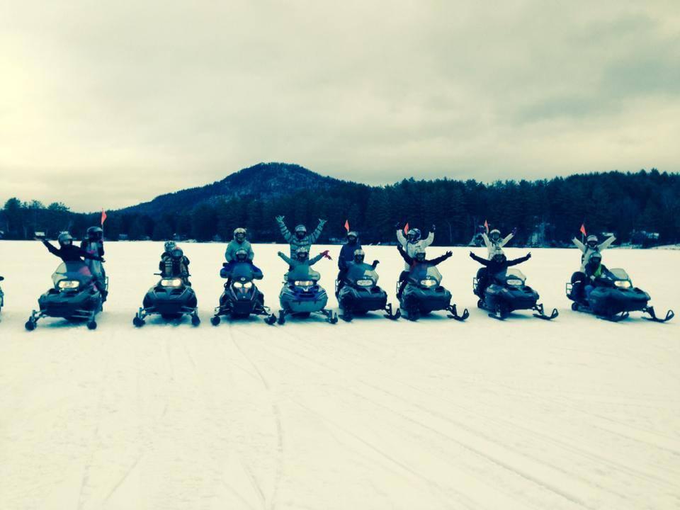 The Fun Factor at C&C Snowmobile Tours, Run by CRaig Kennedy