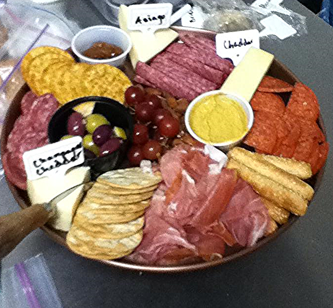 The Deluxe Meat and Cheese Platter