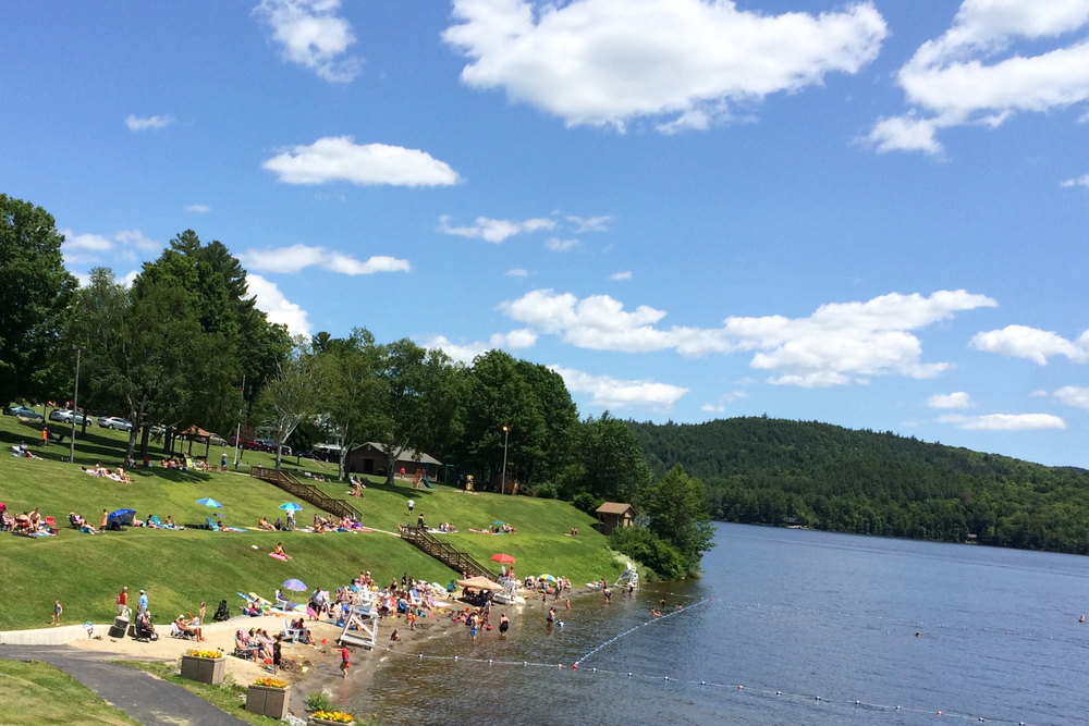 THE BEACH AT SCHROON LAKE. JULY 3, 2015. SCHROONLAKER COLLECTION. ALL RIGHTS RESERVED. COPYRIGHT 2015