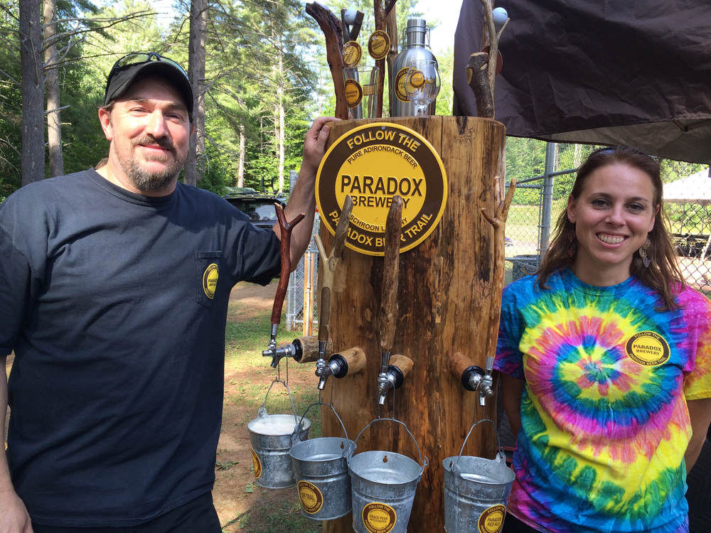 PARDOX BREWERY PARTNERS VAUGN AND JENNIFER  CLARK . SCHROON LAKER COLLECTION. COPYRIGHT 2015. ALL RIGHTS RESERVED