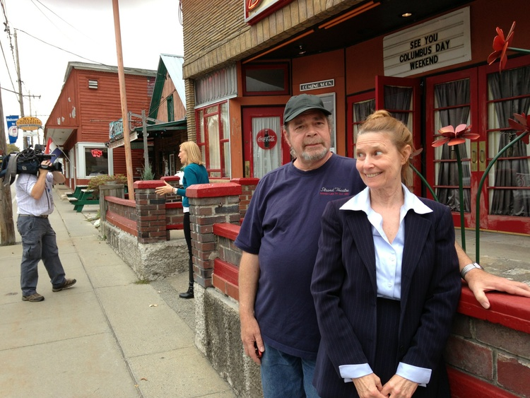 Liz and Larry were featured on Channel 10, talking about the efforts to Save The Strand.