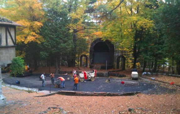 THE AMPITHEATER' AT SCAROON MANOR'S SUMMER 2014 REVAMP.