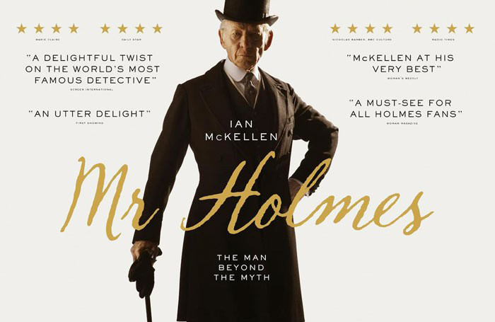 Mr. Holmes plays Friday through Sunday nights at the Strand