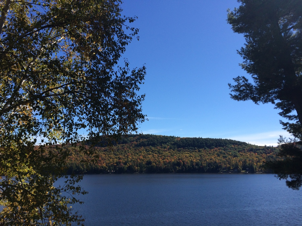 Schroon Lake, Saturday Morning. Untouched iphone5s photo. schroonlaker collection.