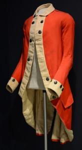 A three-quarters Baldwin Coat