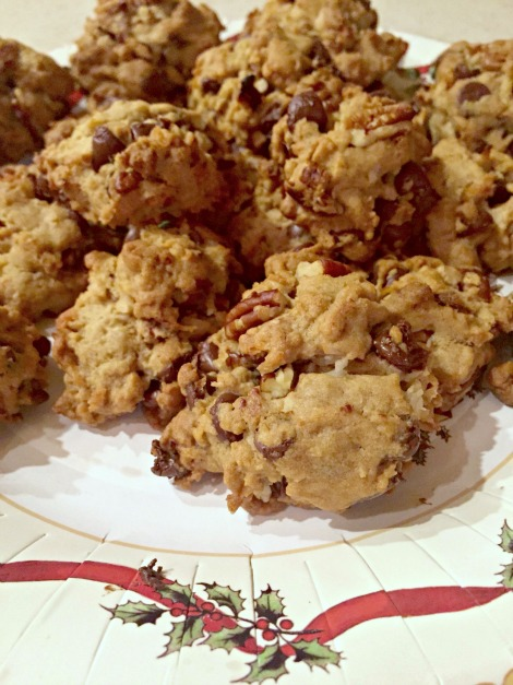 One Bowl Chocolate Chop Cookies. Photo Courtesy Liz George