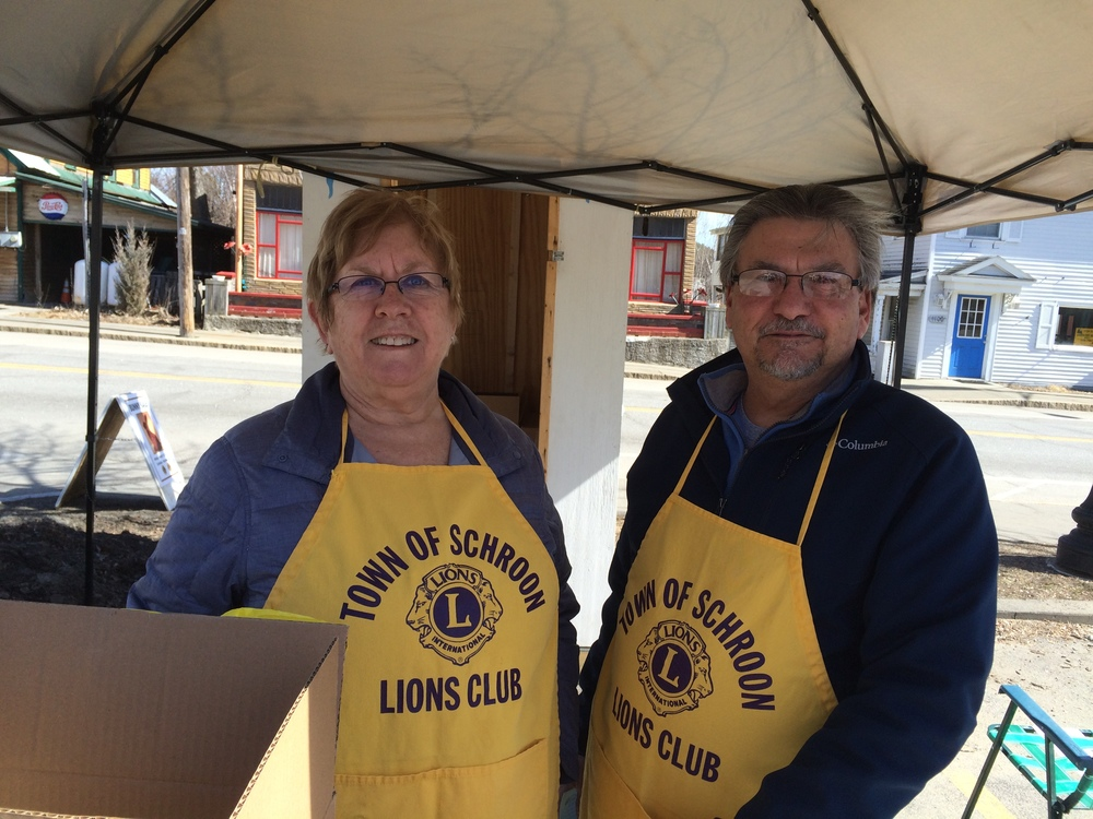 Schroon Lions Diane and Dennis D'Amico