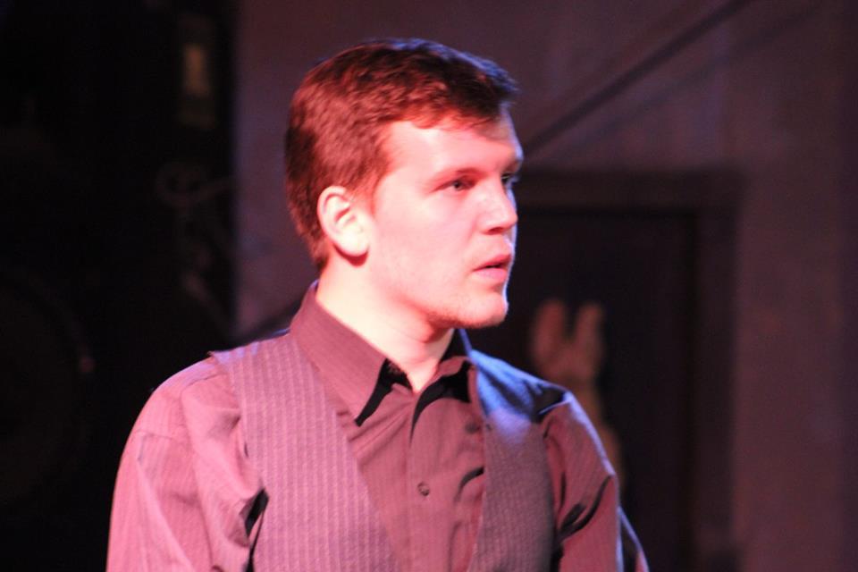 Sean Lounsbury in The Merchant Of Venice. Photo courtesy ADK Shakes.